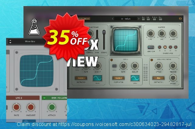 AudioThing Wave Box discount 35% OFF, 2021 Easter day offering sales