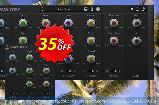 AudioThing Space Strip discount 35% OFF, 2021 April Fools' Day discounts