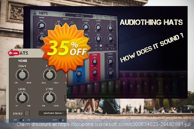 AudioThing Hats discount 35% OFF, 2021 Daylight Saving offering sales