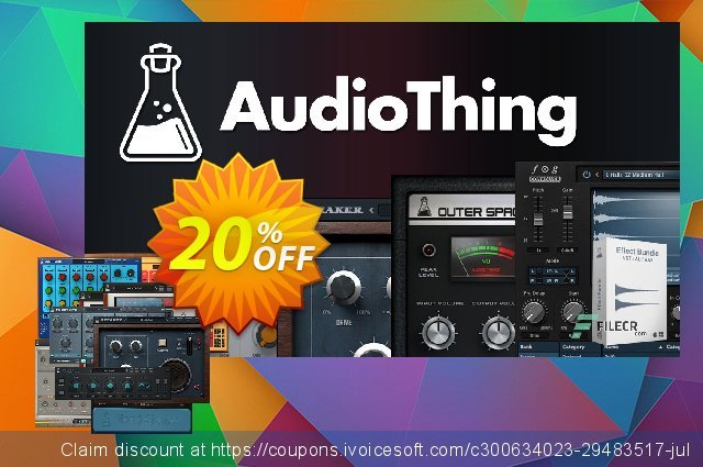 AudioThing Vintage Bundle discount 20% OFF, 2021 Easter day offering sales