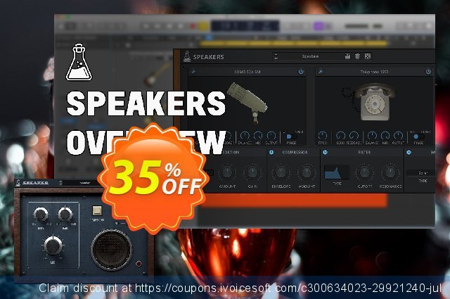 AudioThing Speakers discount 35% OFF, 2021 April Fools' Day offering sales