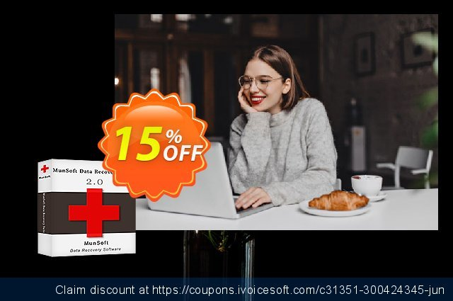 MunSoft Data Recovery Suite (Business License) discount 15% OFF, 2020 Back to School season promotions