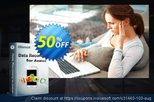 iStonsoft Data Recovery for Android (Mac Version) discount 50% OFF, 2020 Back to School promotion promo