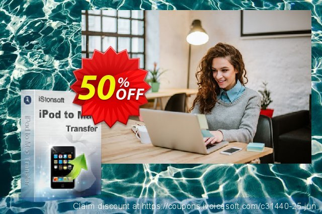iStonsoft iPod to Mac Transfer discount 50% OFF, 2020 April Fools Day deals