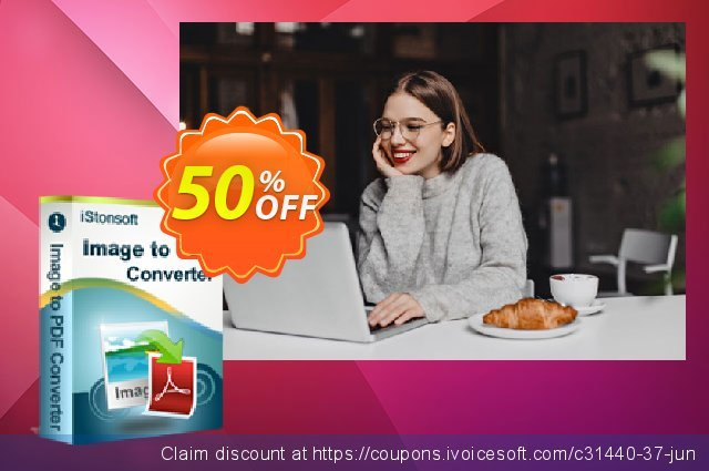 iStonsoft Image to PDF Converter discount 50% OFF, 2019 Exclusive Student deals promotions