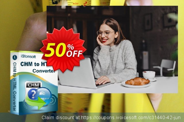 iStonsoft CHM to HTML Converter discount 60% OFF, 2019 4th of July discount
