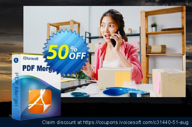 iStonsoft PDF Merger discount 50% OFF, 2020 Halloween offering sales