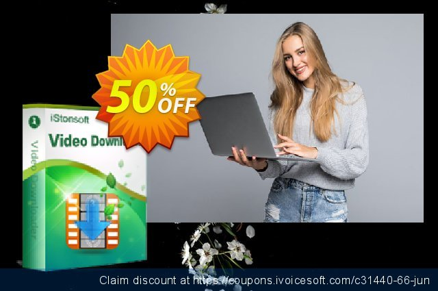 iStonsoft Video Downloader discount 50% OFF, 2020 Halloween offering sales