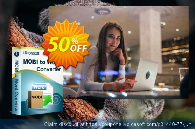 iStonsoft MOBI to Word Converter discount 50% OFF, 2020 Thanksgiving offering discount