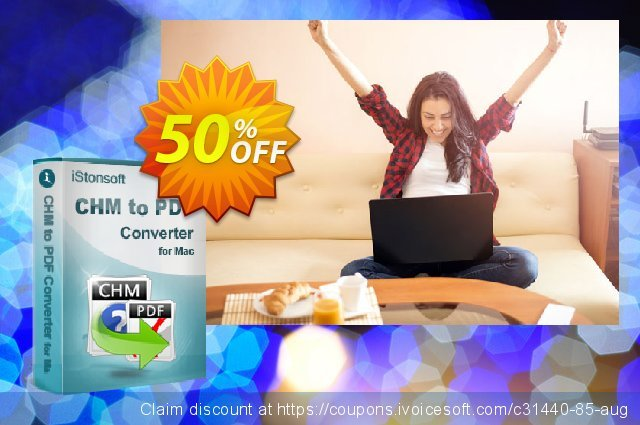 iStonsoft CHM to PDF Converter for Mac discount 50% OFF, 2020 Spring offer