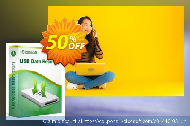 iStonsoft USB Data Recovery discount 50% OFF, 2020 Halloween sales