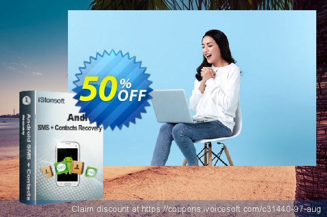 iStonsoft Android SMS+Contacts Recovery (Mac Version)  특별한   프로모션  스크린 샷