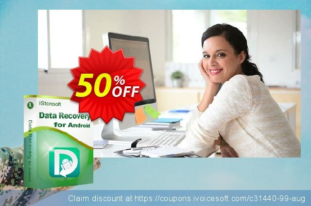 iStonsoft Data Recovery for Android discount 50% OFF, 2020 April Fools Day promotions