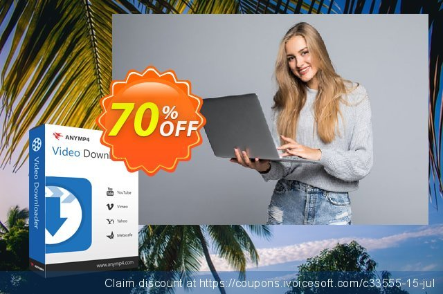 AnyMP4 Video Downloader discount 50% OFF, 2020 New Year's Day sales