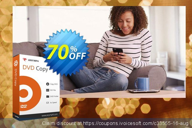 AnyMP4 DVD Copy discount 50% OFF, 2021 Happy New Year deals