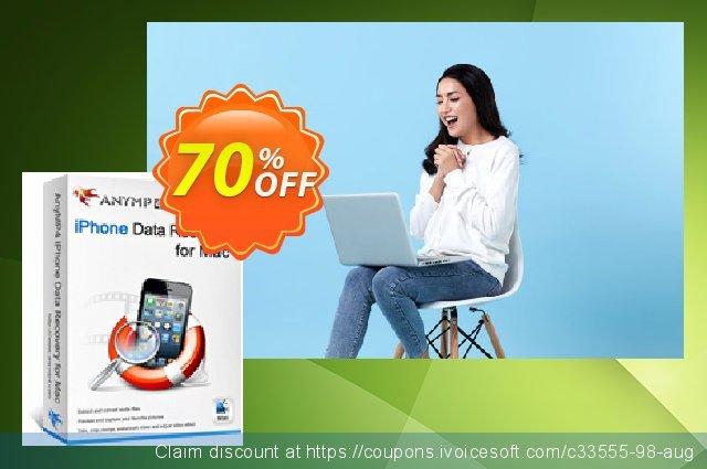 [40% OFF] AnyMP4 iPhone Data Recovery for Mac Coupon code ...