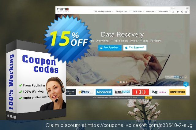 Remo Recover Outlook Express discount 15% OFF, 2019 Thanksgiving Day offering sales