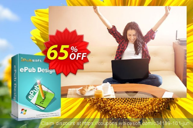 iPubsoft ePub Designer discount 65% OFF, 2019 New Year's Day discounts