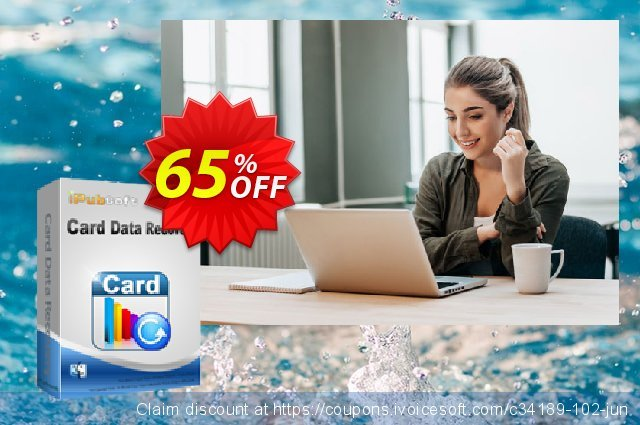 iPubsoft Card Data Recovery for Mac 超级的 交易 软件截图