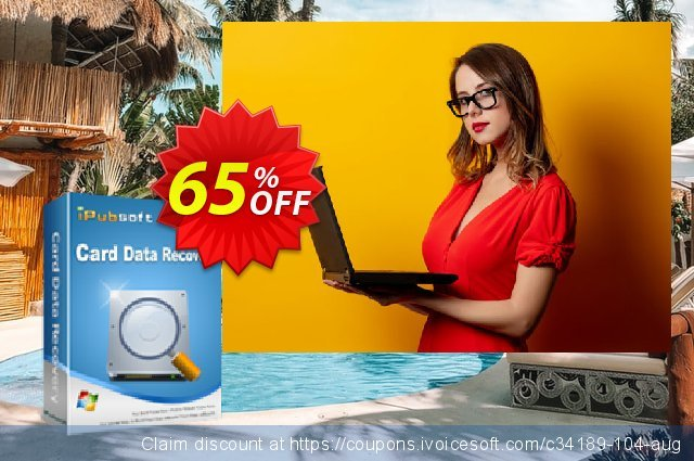iPubsoft Card Data Recovery discount 65% OFF, 2019 Halloween promotions