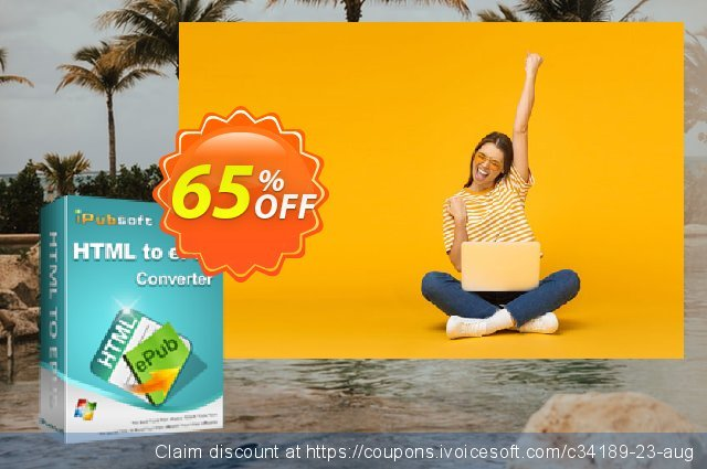 iPubsoft HTML to ePub Converter  대단하   촉진  스크린 샷