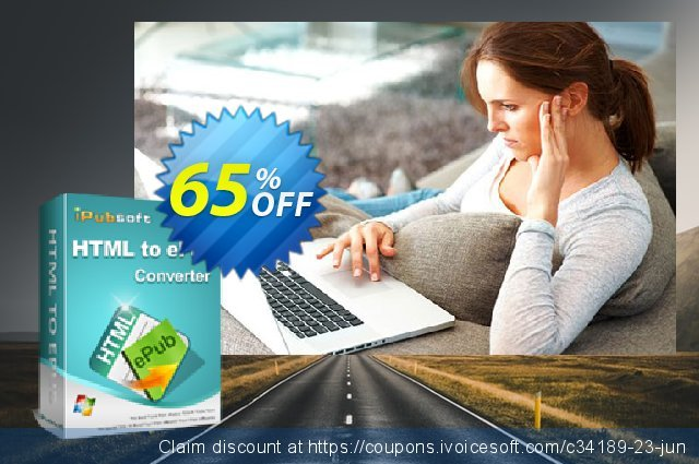 iPubsoft HTML to ePub Converter discount 65% OFF, 2020 Halloween offering sales