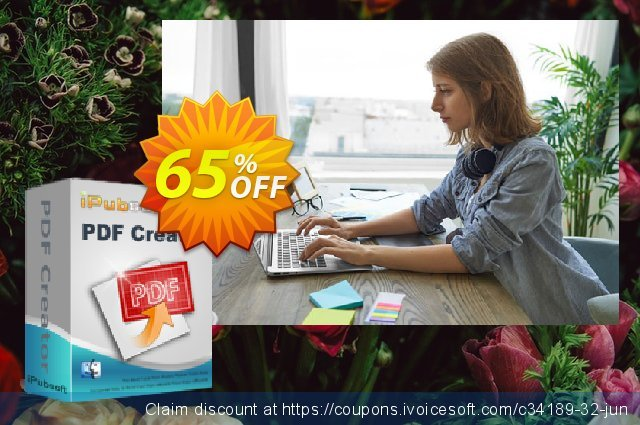 iPubsoft  PDF Creator for Mac discount 65% OFF, 2019 End year offering deals
