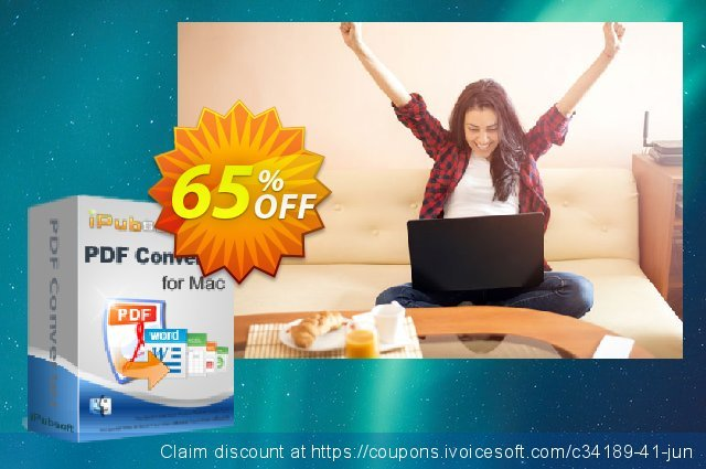iPubsoft PDF Converter for Mac discount 65% OFF, 2019 Thanksgiving Day offering sales