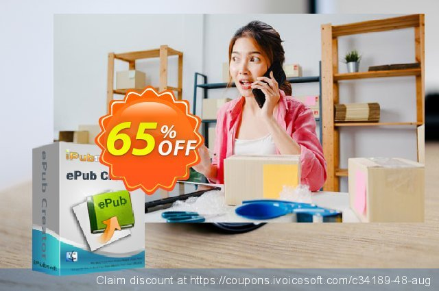 iPubsoft ePub Creator for Mac discount 65% OFF, 2019 Black Friday offer