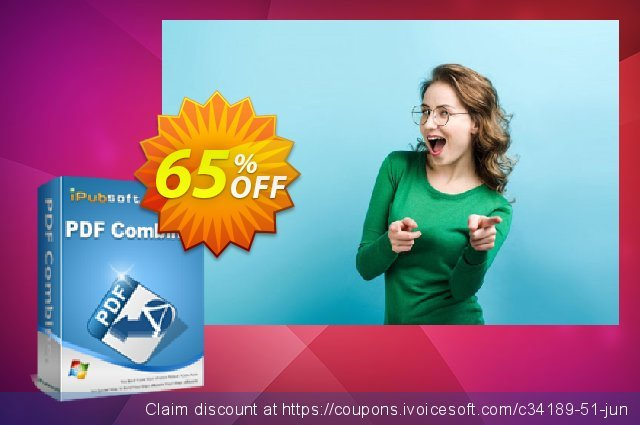 iPubsoft PDF Combiner discount 65% OFF, 2019 Year-End offering deals