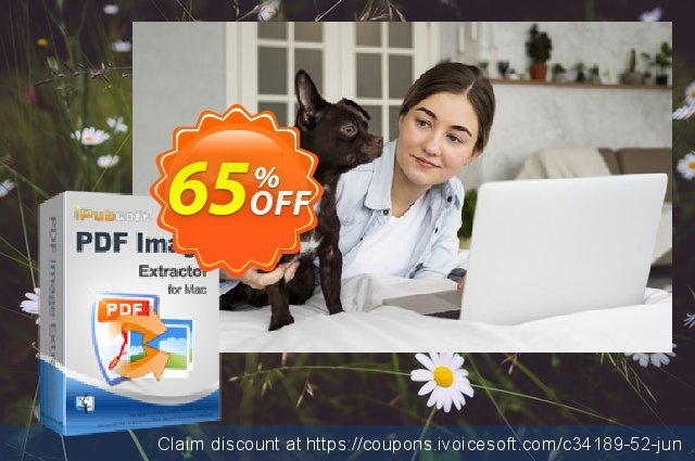iPubsoft PDF Image Extractor for Mac discount 65% OFF, 2019 New Year's eve promo sales