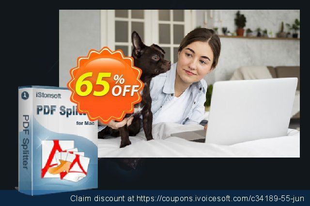 iPubsoft PDF Splitter for Mac discount 65% OFF, 2020  Lover's Day sales