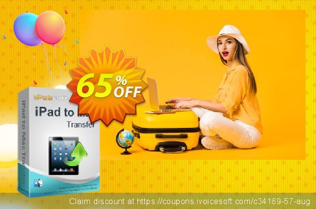 iPubsoft iPad to Mac Transfer discount 65% OFF, 2019 Halloween offering sales