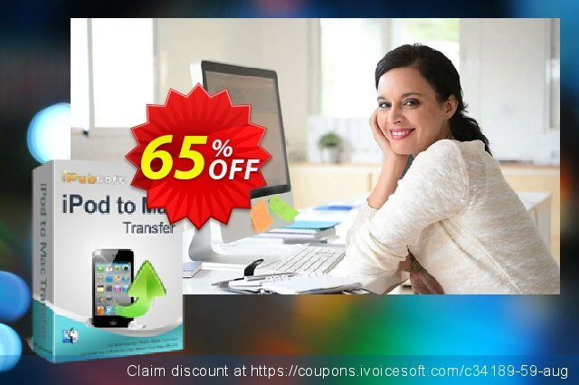 iPubsoft iPod to Mac Transfer discount 65% OFF, 2019 End year offering sales