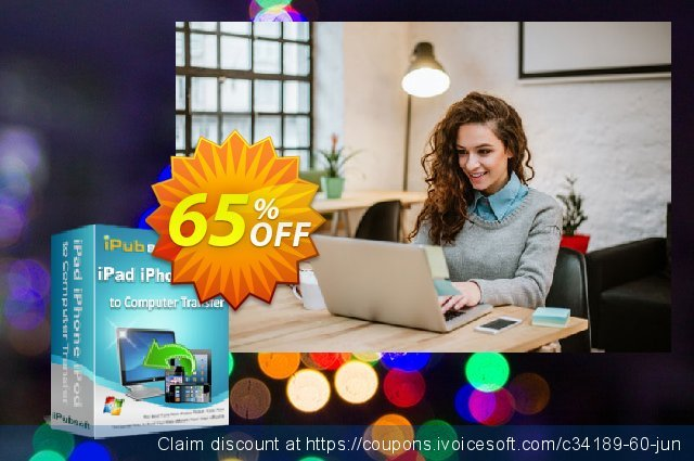 iPubsoft iPad iPhone iPod to Computer Transfer  경이로운   촉진  스크린 샷