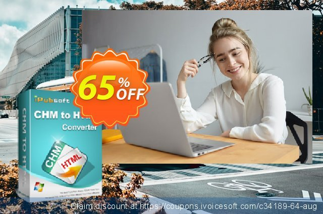 iPubsoft CHM to HTML Converter discount 65% OFF, 2019 Back to School deals offering sales