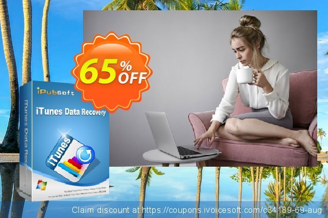 iPubsoft iTunes Data Recovery discount 65% OFF, 2019 Exclusive Student deals deals