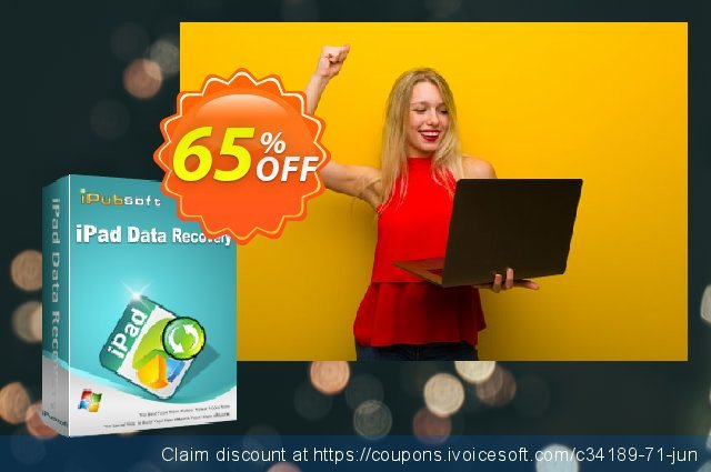 iPubsoft iPad Data Recovery discount 65% OFF, 2020 Fourth of July offer