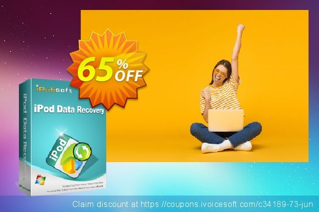 iPubsoft iPod Data Recovery discount 65% OFF, 2019 University Student offer offering sales