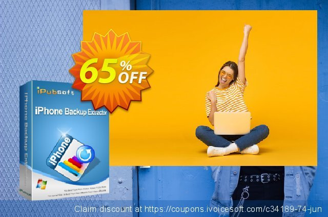 iPubsoft iPhone Backup Extractor discount 65% OFF, 2019 Summer offering discount