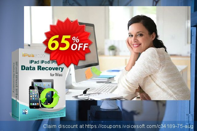 iPubsoft iPad/iPod/iPhone Data Recovery for Mac  서늘해요   세일  스크린 샷