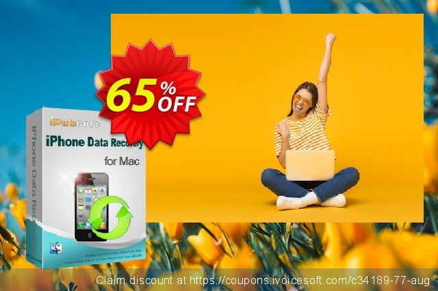 iPubsoft iPhone Data Recovery for Mac 激动的 产品销售 软件截图