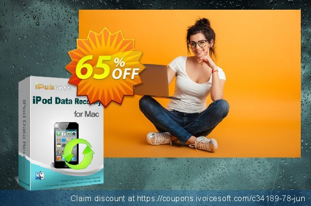 iPubsoft iPod Data Recovery for Mac  위대하   할인  스크린 샷