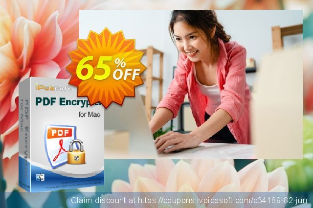 iPubsoft PDF Encrypter for Mac discount 65% OFF, 2019 Thanksgiving discounts