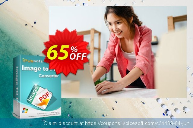 iPubsoft Image to PDF Converter discount 65% OFF, 2020 Halloween promotions