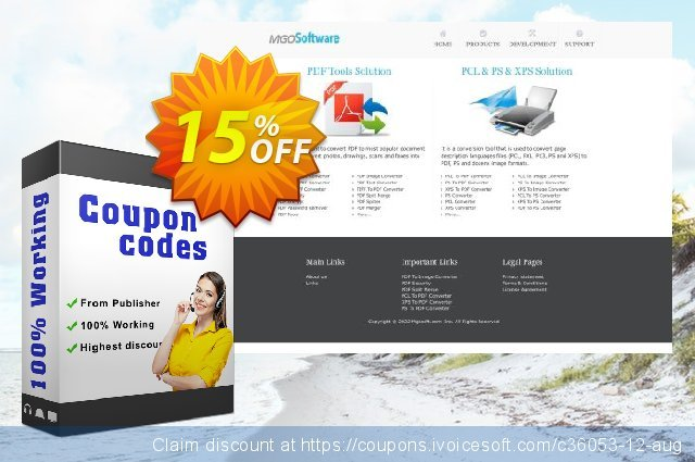 Mgosoft Image To PDF SDK discount 15% OFF, 2020 College Student deals offering sales