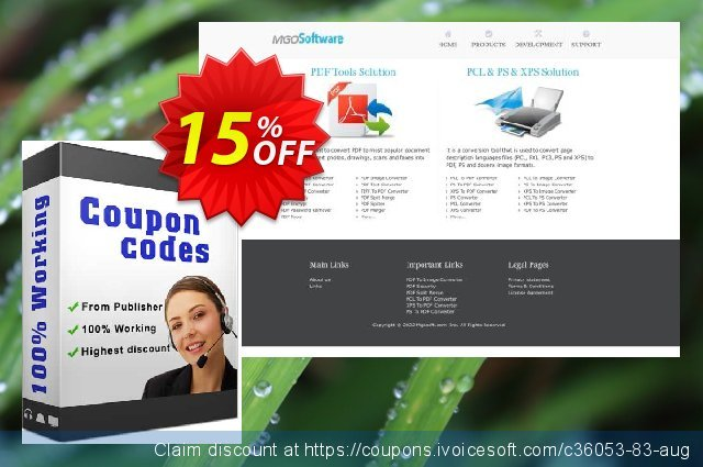 Mgosoft PS Converter SDK discount 15% OFF, 2020 Happy New Year promotions