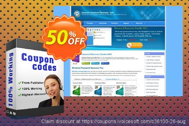 Password Recovery Bundle 2012 discount 50% OFF, 2020 Spring offering deals