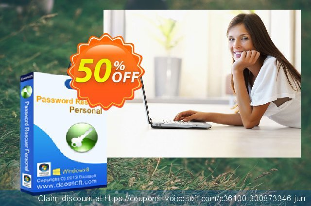 Daossoft Password Rescuer Personal discount 50% OFF, 2021 Happy New Year offering discount