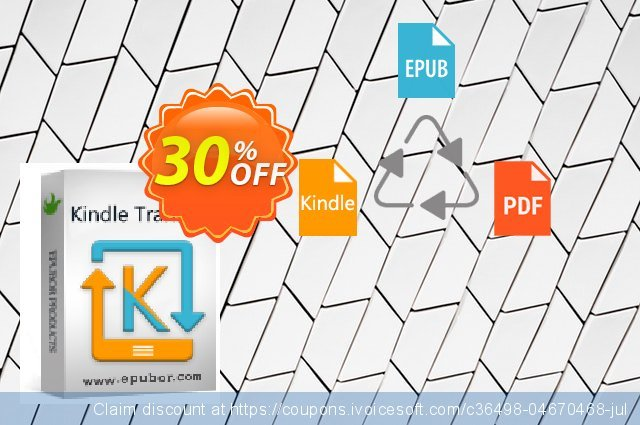 Kindle Transfer for Mac Lifetime discount 30% OFF, 2020 University Student offer offering sales